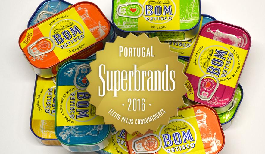 Bom Petisco eleito Superbrand 2016