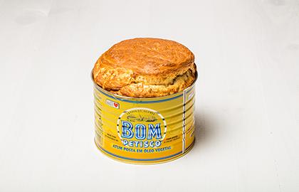Souffle de atum Bom Petisco